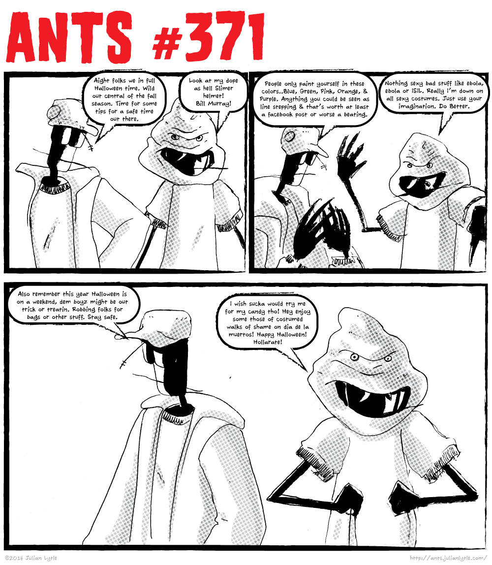 Ants Halloween Tips